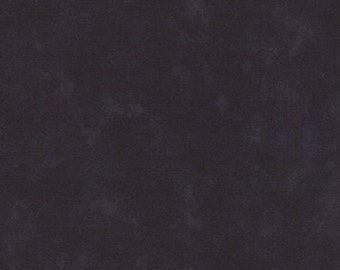 End of Bolt  1.5 Yards - Moda Marbles Black - 988059