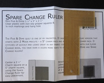 Kansas Troubles Quilters - Spare Change Ruler