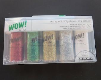 American crafts Extra Fine  Glitter Set -97060 - 5 Piece