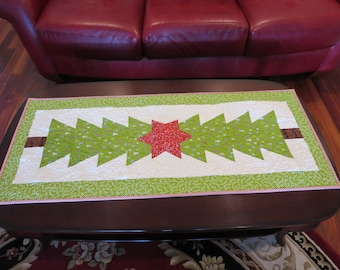 Homemade -  Christmas Table Runner With Applique Star