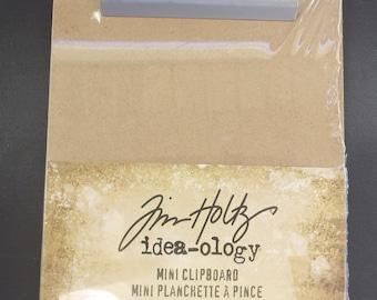"""Tim Holtz -Idea-Ology Mini Clipboard 4.5""""X7.75"""" - TH93278"""