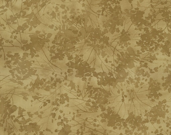 Timeless Treasures -  C77412 Taupe Tonal Floral - Nature