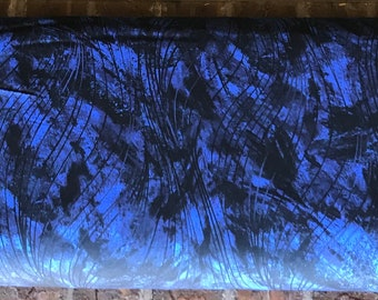 Dark Blue Go With the Flow 108in Wide Back  QB102-N - Beautiful Backing by Maywood Studio Collection