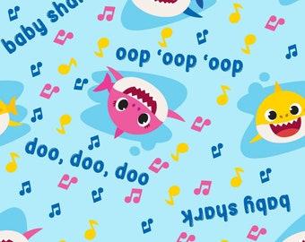 Spring Creative Baby Shark Music Toss - 737571600715