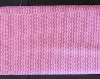 Hipster Hot Pink Crimp Fabric