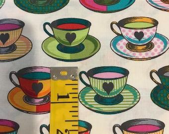 Curiouser And Curiouser - Tea Time Sugar -Tula Pink -  PWTP163