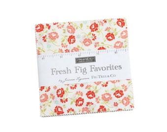 Fresh Fig Favorites Charm Pack 20410PP Moda Precuts - Fig  Tree