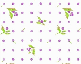 LOVE LETTERS by Shannon Christensen for Windham Fabric 51417-2 Flower Dot Lilac