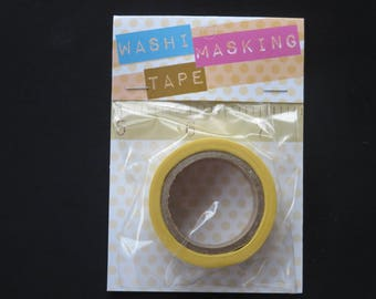 Washi Tape - Yellow Measuring Tape - 5/8 x 312 inch roll