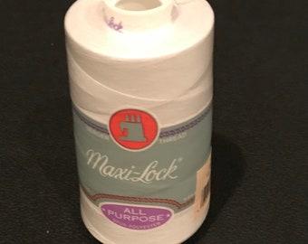 Maxi -Lock All Purpose Polyester Serger Thread - Large Spool 6000 Yards - 32109