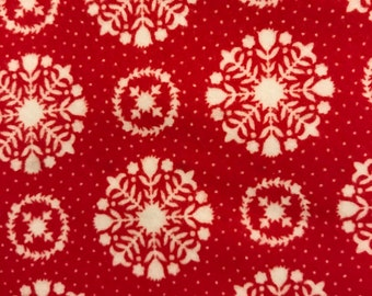 Vintage Holiday - 55166-11F Medallion in Red - FLANNEL Bonnie and Camille for Moda Fabrics