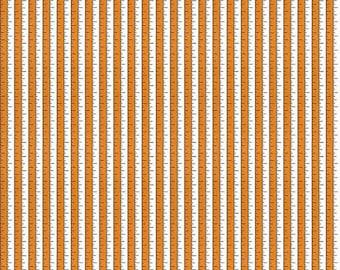 Riley Blake - Costume Maker's Ball Tape Measure Orange - Halloween Fabric