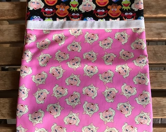 Muppets and Miss Piggy / Pillowcase - Novelty
