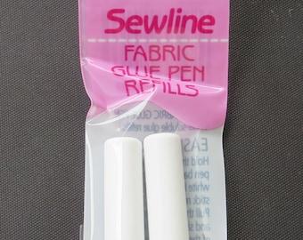 BLUE Sewline Fabric Glue Pen Refill - Pen Sold Separately ( Link Below)  - Glue Stick/Gluestick