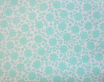 The Good Life Fabric -Bonnie and Camille Floral Carefree Aqua 55156 12