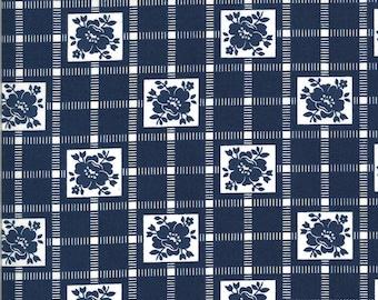 Bonnie Camille Shine On Fabric - Shine On CheckNavy - 5521217 - 55212 17