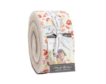 Fig Fig Tree Fabric -Fresh Fig Favorites Jelly Roll® 20410JR Moda Precuts