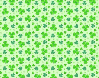 Pot Of Gold - Henry Glass - 9368-66  - Tossed Clover