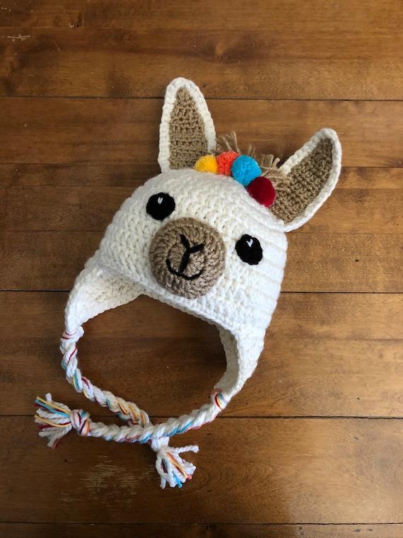 Lama chapeau crochet chapeau lama chapeau crochet llama bonnet