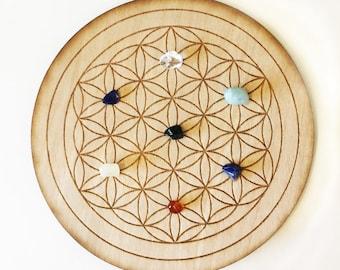 Flower of Life Grid, Crystal Grid, Meditation, Sacred Geometry