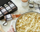 Gourmet Popcorn seasoning - Personalized flavored popcorn spice sampler for popcorn lovers gift, stuck at home gift for movie night
