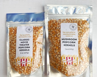 Popcorn in bulk - gourmet popcorn for movie night at home, sustainably grown popcorn for wedding popcorn bar, popcorn for your popcorn bowl