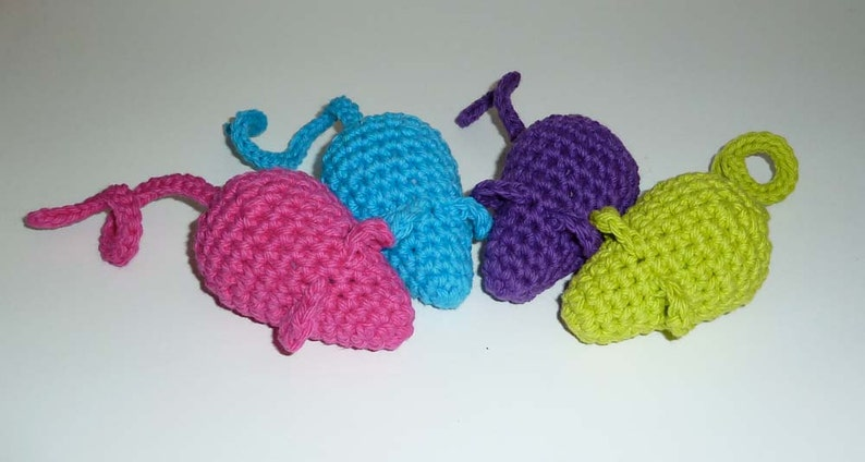 Kitty Jingle Bell Mice Cat Toys