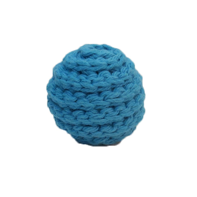 Set of 2 Choose Your Colors Small Spiral Squeaker Dog Balls