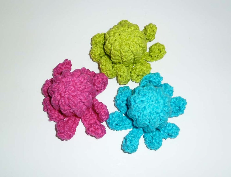 Choose Your Colorss Dog Squeaker Octopuses Tiny Dog Toys