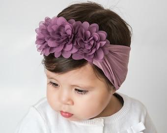 3581002681b7 Pick Color Nylon Baby headband