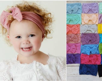 Baby headbands, Baby Headband, Newborn headbands,Baby Nylon Headband, nylon headbands, infant headband, newborn headband,baby girl headbands