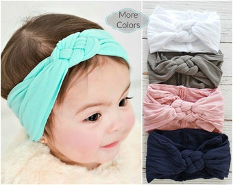 3d7f487a362 Nylon Baby Headbands