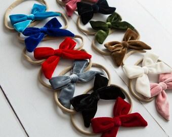 Velvet baby headband  821da82c00a
