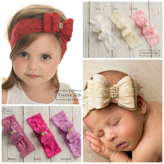Red baby headband baby headbands Christmas headband  3eb3e4d88aa