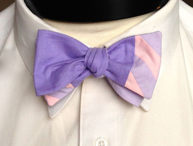 The Walt  Our Disney Inspired bowtie in Rapunzel colors image 0