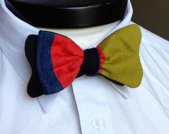 The Walt - Our Disney Inspired bowtie in Goofy colors