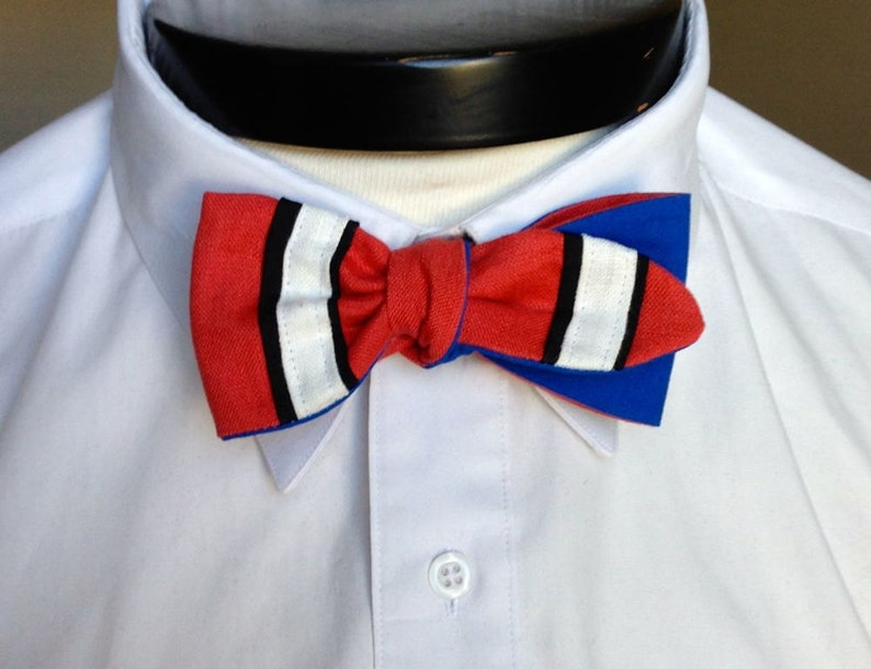The Luxo  Our Pixar Inspired bowtie in Nemo colors image 0