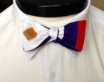 The Walt - Our Disney Inspired bowtie in Aladdin colors