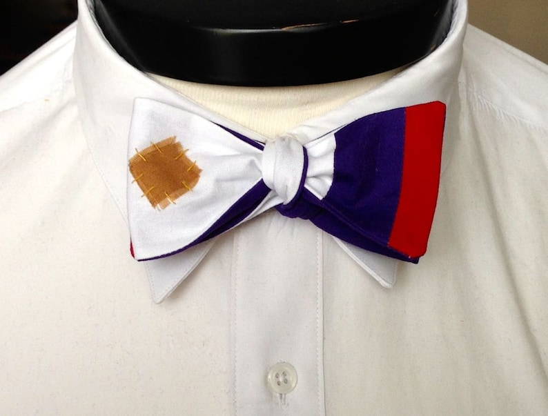 The Walt  Our Disney Inspired bowtie in Aladdin colors image 0