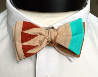 The Walt - Our Disney Inspired bowtie in Pocahontas Colors
