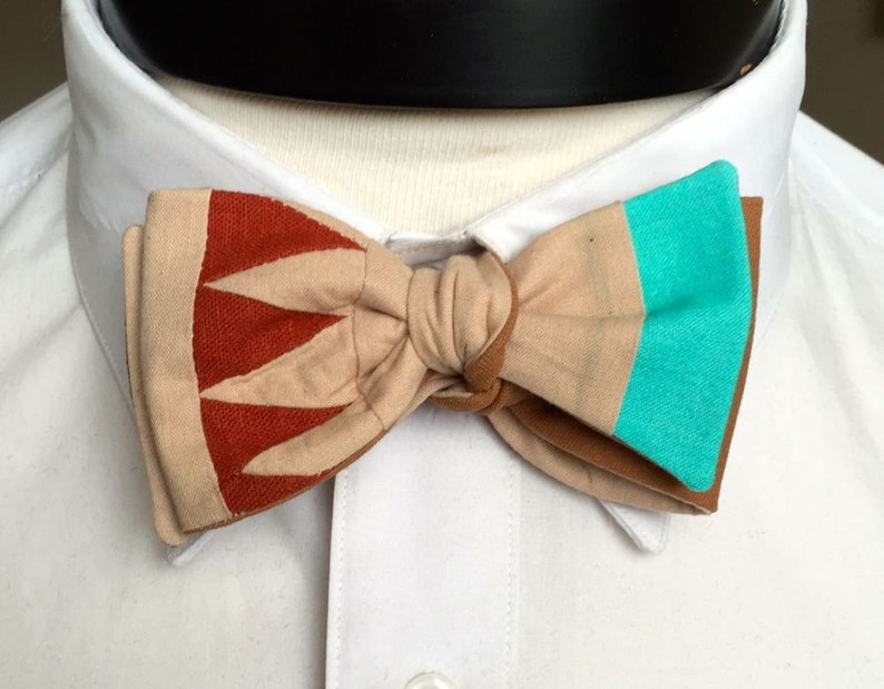 The Walt  Our Disney Inspired bowtie in Pocahontas Colors image 0