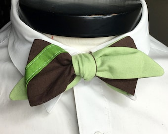 The Lucas - Our Star Wars Inspired bowtie in Yoda Colors