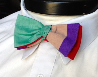 The Walt - Our Disney Inspired bowtie in Ariel colors