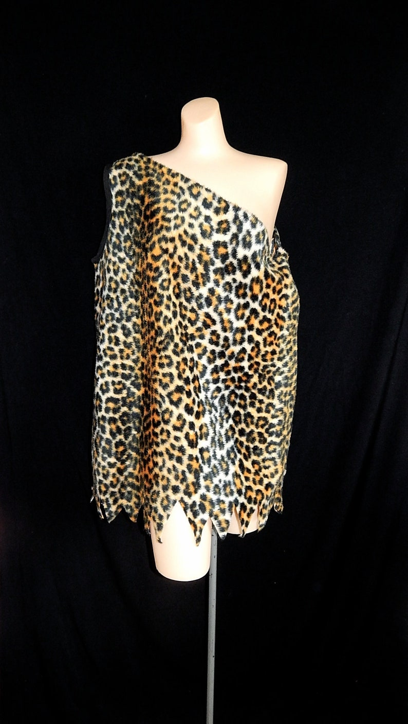 Vintage 50   s 60   s pelliccia leopardo ghepardo  dc0c95e0eec