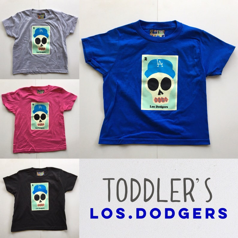07c0091d87d Toddlers Los Dodgers Sugar Skull Tee