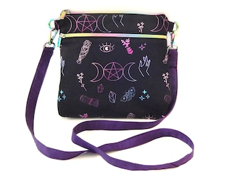 Radient Goddess Crossbody Bag / Adjustable Strap