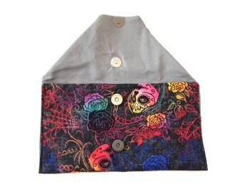 Nephthys Sunglasses Pouch / Rainbow Design / Pagan Gift Ideas
