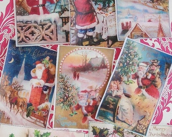 Edible Image VIctorian Christmas Wafer Papers