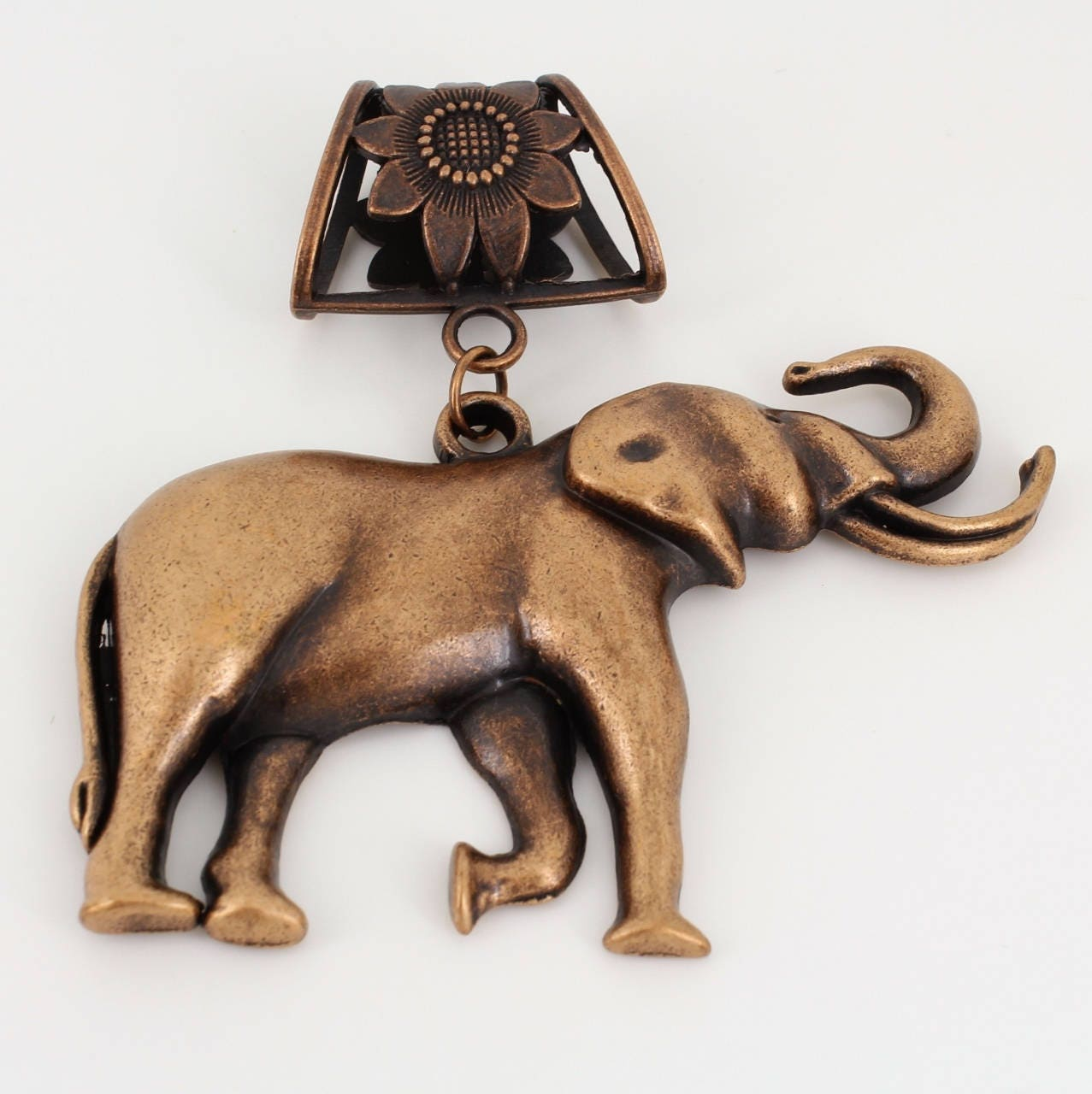 Large,Metal,Elephant,Pendant,,Scarf,Jewelry,,Antique,Copper,~,Accessory~,Charm,Jewelry,scarf_charm,scarf_accessory,scarf_pendant,scarf_jewelry,scarf_slide,scarf_bling,elephant_scarf_slide,elephant_pendant,elephant_with_tusks,animal_lover_gift,antique_copper,elephant_jewelry,Autumn_jewelry,elephant pendant,jump ring,antique copper ba