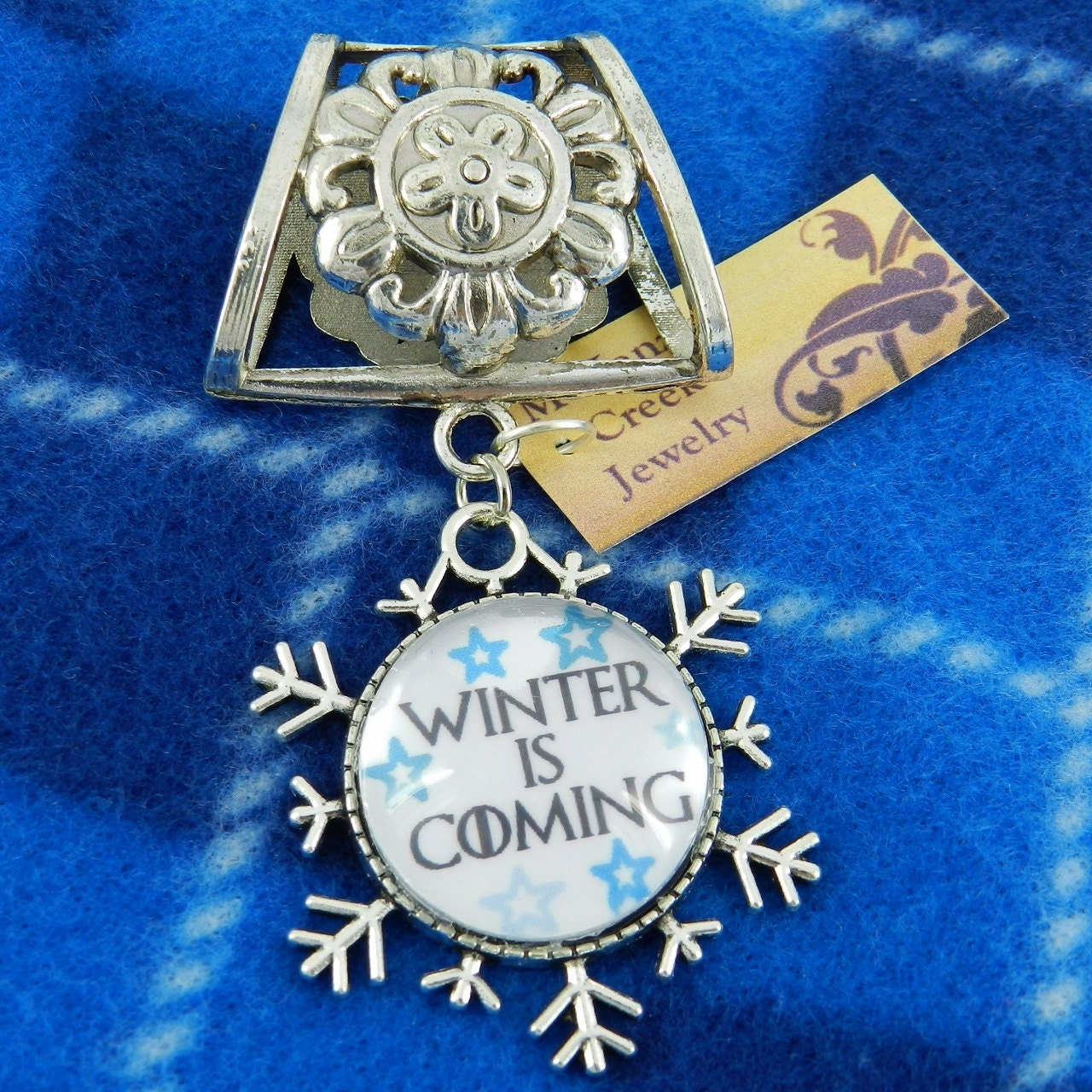 Winter Scarf Pendant  - product images  of